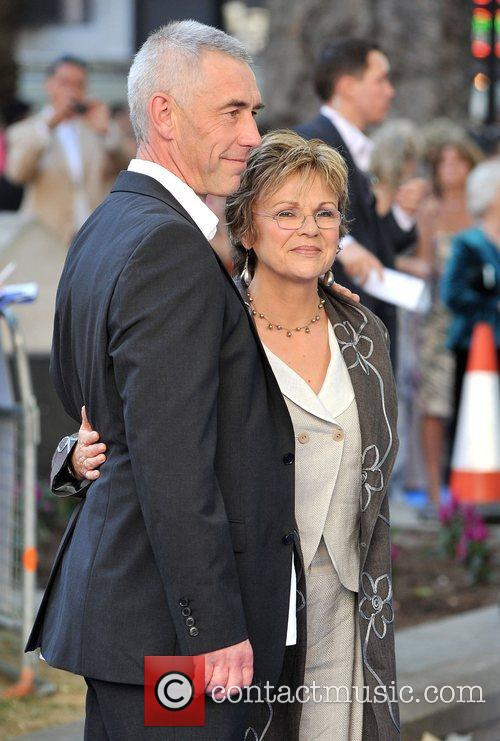 Julie Walters and husband World Premiere of Mamma...