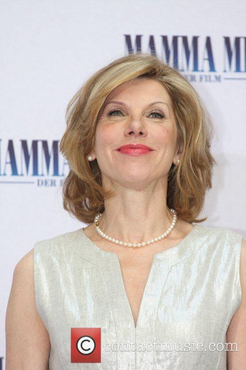 Christine Baranski Photocall to promote the movie Mamma...