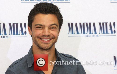 Dominic Cooper Photocall to promote the movie Mamma...