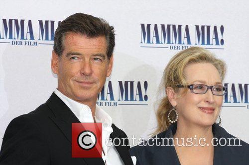 Pierce Brosnan and Meryl Streep 10
