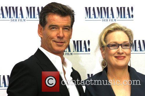 Pierce Brosnan, Meryl Streep Photocall to promote the...