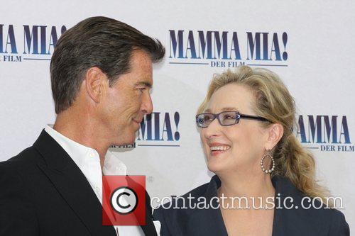 Pierce Brosnan and Meryl Streep 8