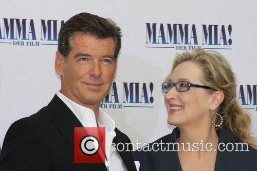 Pierce Brosnan and Meryl Streep 11