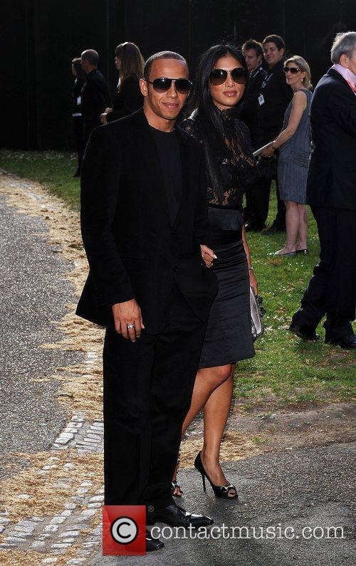 Lewis Hamilton and Nicole Scherzinger 5