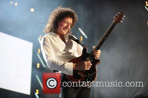 Brian May and Nelson Mandela 12