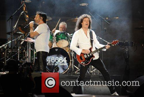 Paul Rodgers, Brian May and Nelson Mandela 4