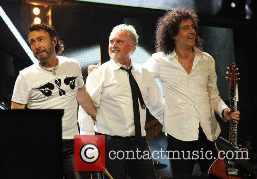 Paul Rodgers, Brian May and Nelson Mandela 10