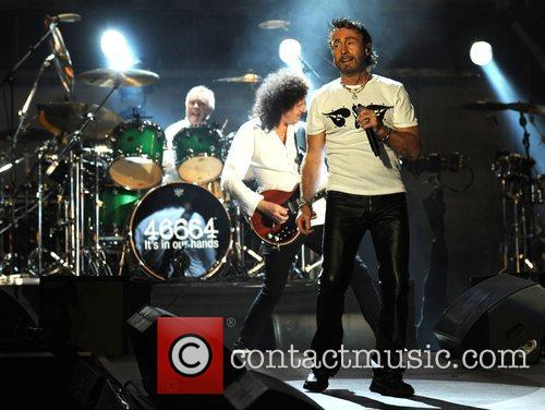 Paul Rodgers, Brian May and Nelson Mandela 5