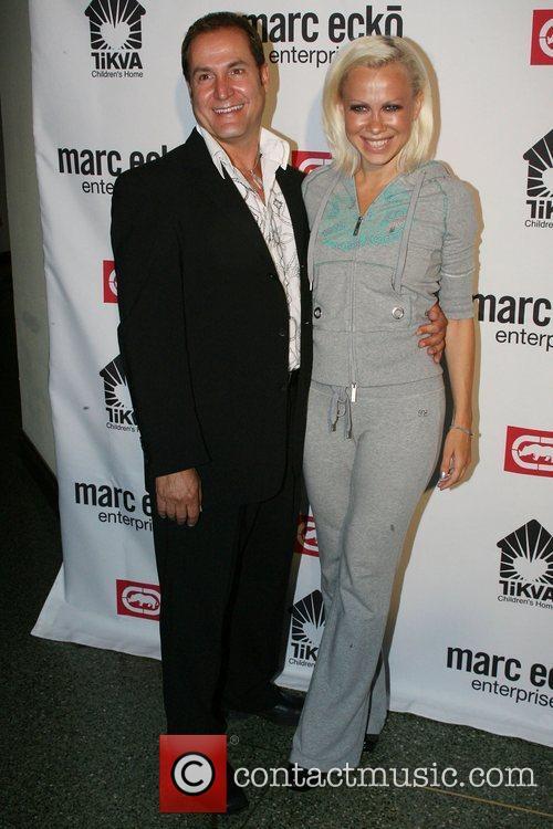 Frank D'Agostino and Oxana Baiul Marc Ecko Enterprises...