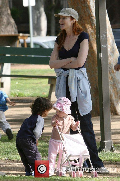Marcia Cross and Police 10