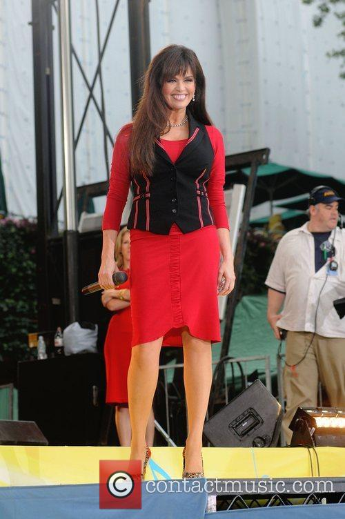 Marie Osmond performs live for 'Good Morning America's...