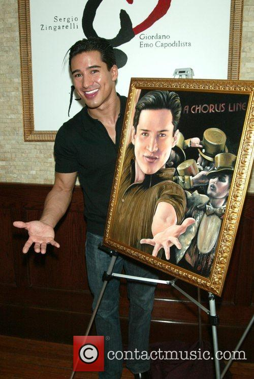 Mario Lopez is inducted onto the Wall of...