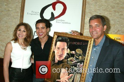 Valerie Smalldone, Mario Lopez and Bruce Dimpflmaier...
