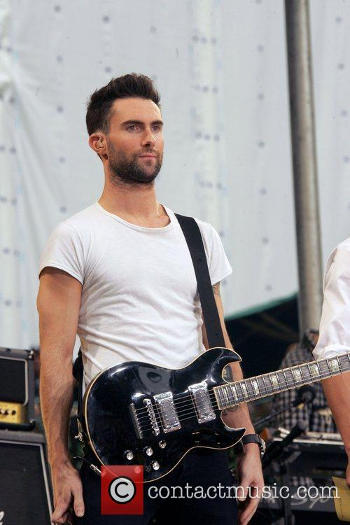 Maroon 5 performs live for 'Good Morning America's...