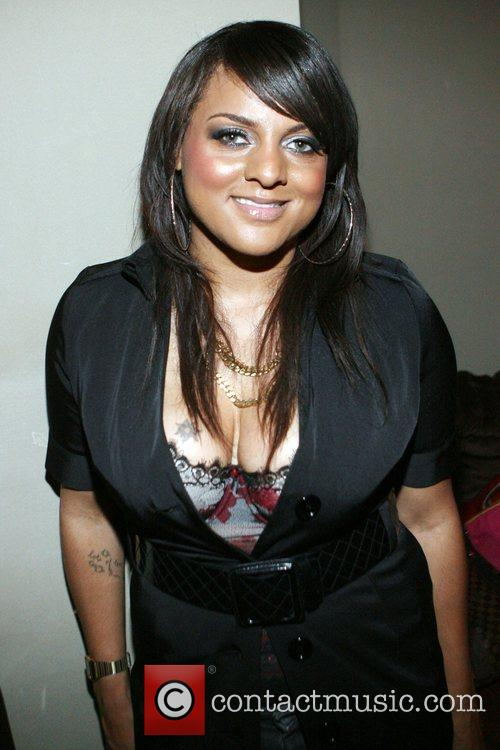 Marsha Ambrosius Backstage at The Eclectic Ride and...