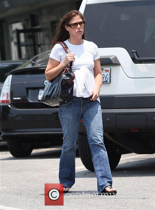 'ER' star Maura Tierney out and about