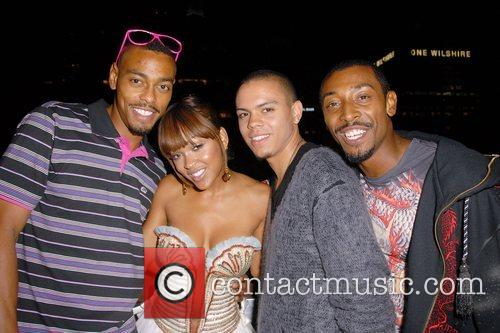 Meagan Good celebrates her 27th birthday at The...