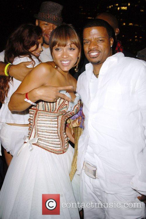 Meagan Good and Ricky Bell Meagan Good celebrates...