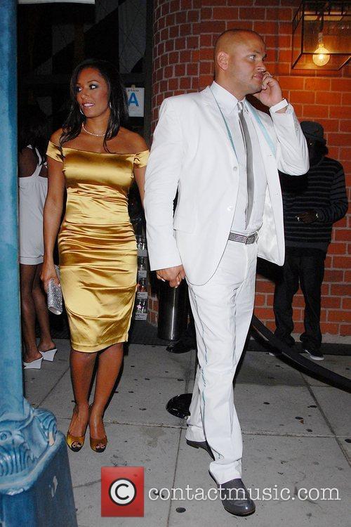 Melanie Brown (Mel B) and her husband Stephen...
