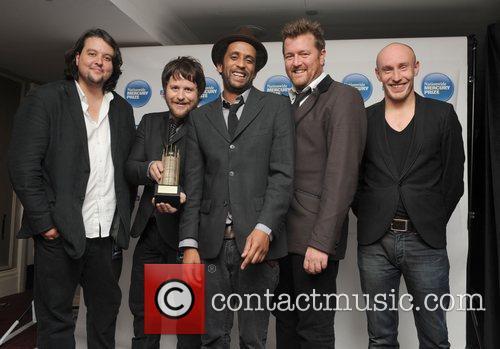 Elbow 2008 Mercury Music Prize - Press Room...