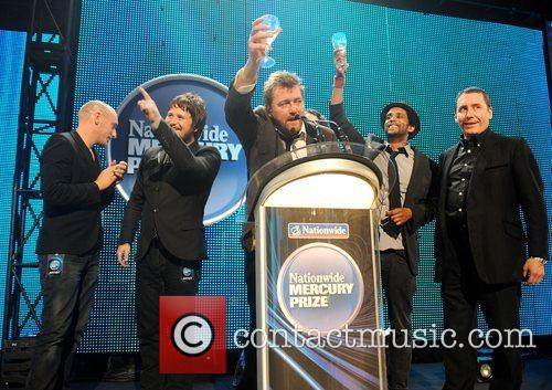 Elbow and Jools Holland Elbow are awarded the...