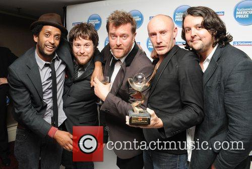 Elbow are awarded the 2008 Mercury Music Prize...
