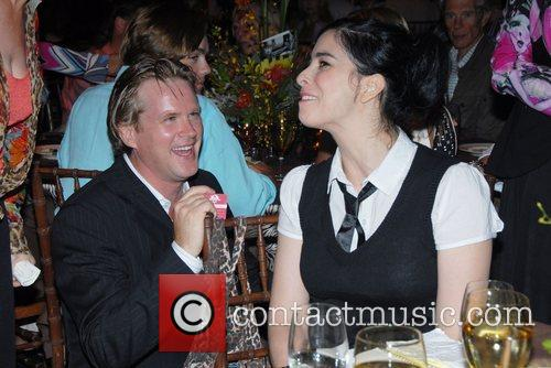 Cary Elwes and Sarah Silverman 1
