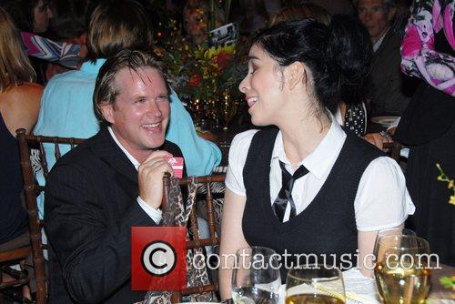 Cary Elwes and Sarah Silverman 5