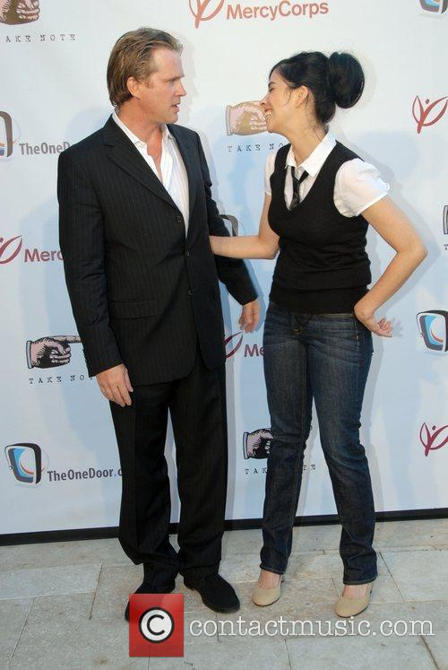 Cary Elwes and Sarah Silverman 7