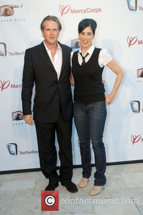 Cary Elwes and Sarah Silverman 9