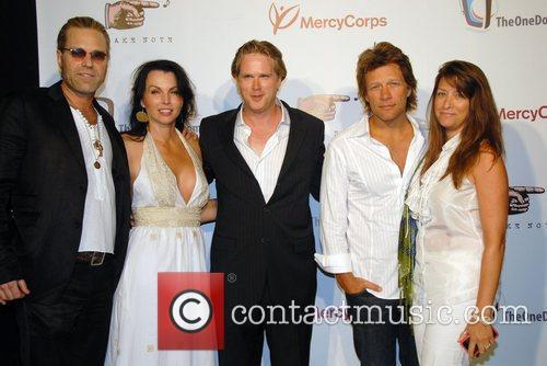 Tico Torres, Bon Jovi, Cary Elwes and Jon Bon Jovi 3