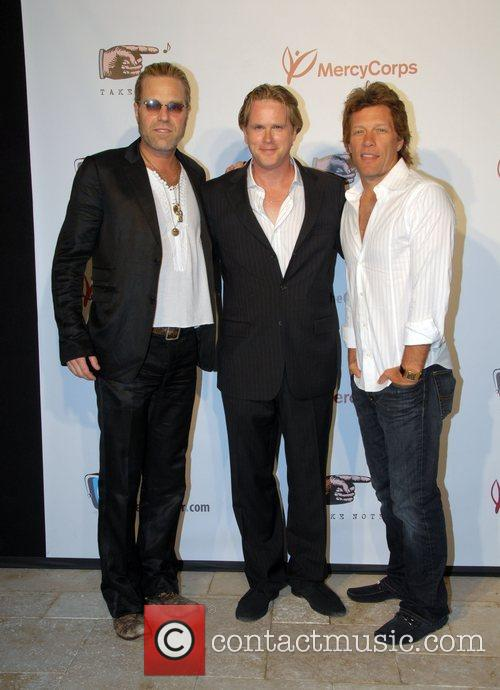 Tico Torres and Cary Elwes 1