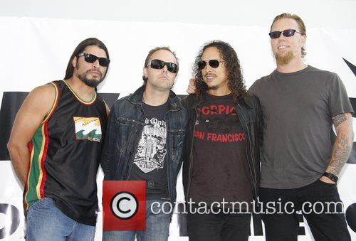 Kirk Hammett, James Hetfield, Lars Ulrich and Robert Trujillo 2