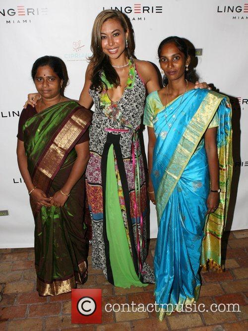 Kitra, Renata Black and Anita Lingerie Miami Cocktail...