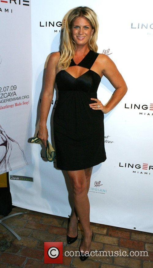 Rachel Hunter Lingerie Miami Cocktail Party at Cipriani...