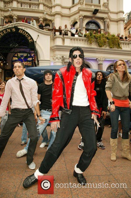 Michael Jackson Impersonator 7