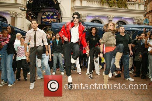 Michael Jackson Impersonator 3