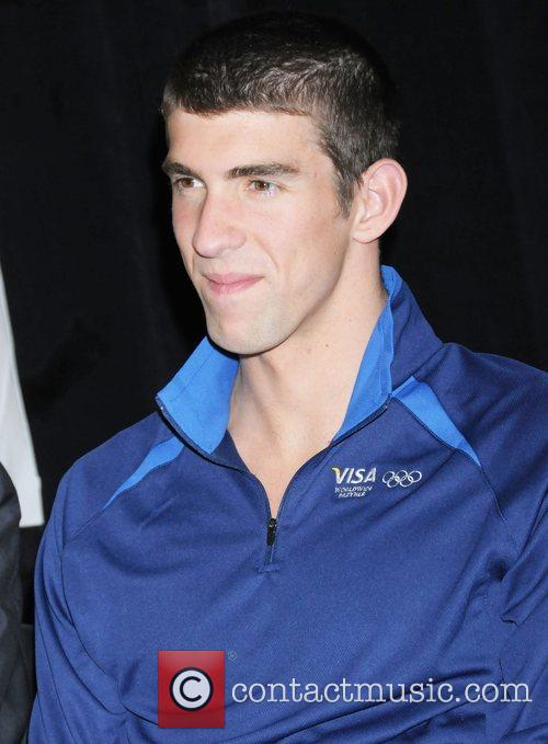 Michael Phelps  Olympic champion speaks at a...