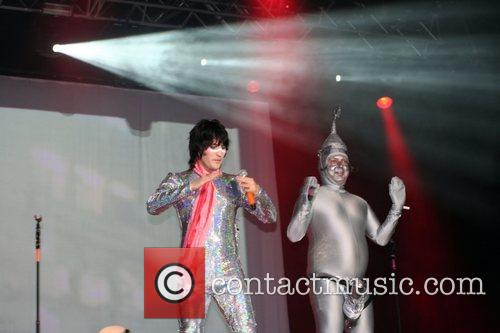 Noel Fielding and Bob Fossil of The Mighty...