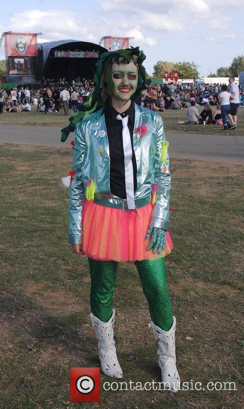 Atmosphere at the Mighty Boosh Festival Hop Farm,...