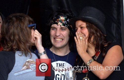 Noel Fielding and Friends Watch White Denim 5