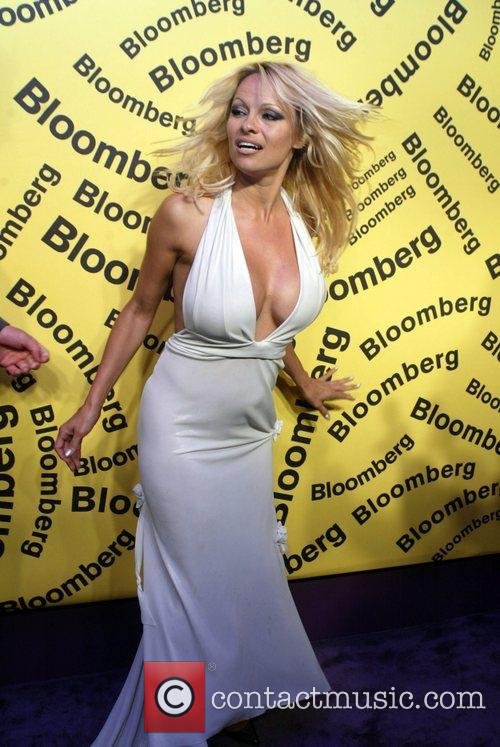 Pamela Anderson WHCD Bloomberg after party Washington DC,...