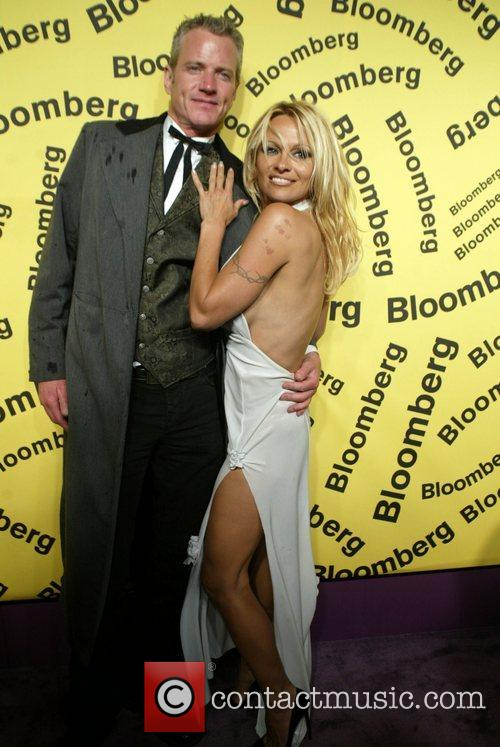 Pamela Anderson and Guest WHCD Bloomberg after party...