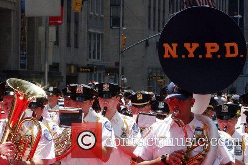 NYPD Marching Band  2008 MLB All-Star Week...