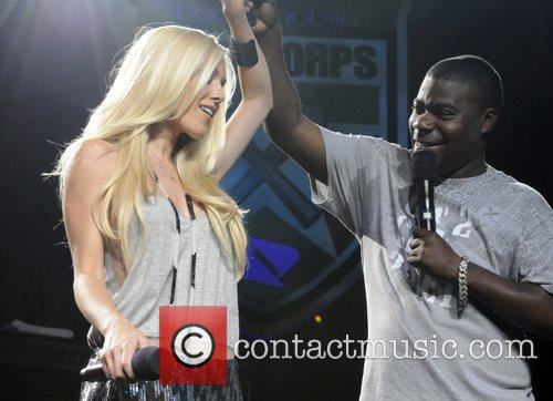 Heidi Montag and Tracy Morgan Performing At The Boost Mobile Rock Corps At The Gibson Amphitheatre In Universal City 1