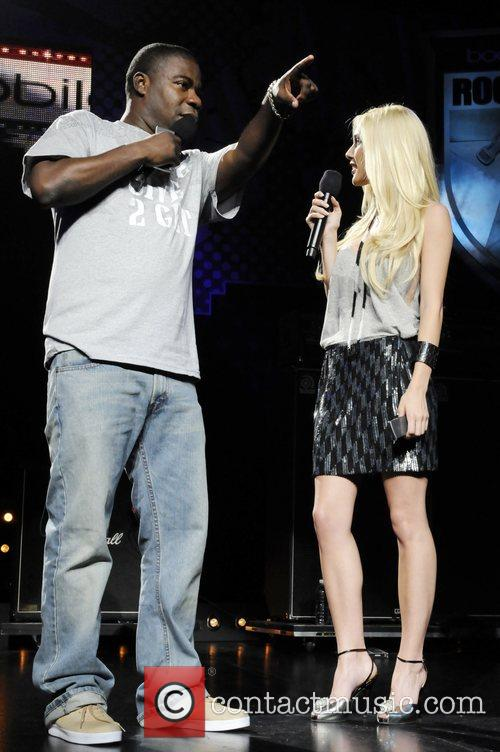 Heidi Montag and Tracy Morgan Performing At The Boost Mobile Rock Corps At The Gibson Amphitheatre In Universal City 5