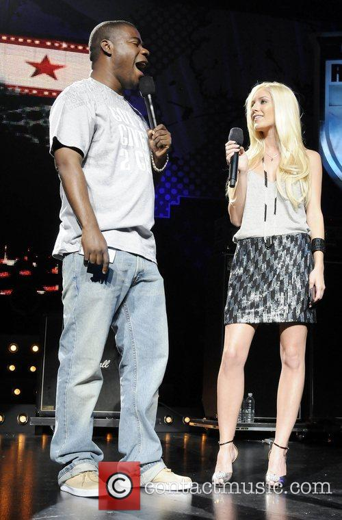 Heidi Montag and Tracy Morgan Performing At The Boost Mobile Rock Corps At The Gibson Amphitheatre In Universal City 2