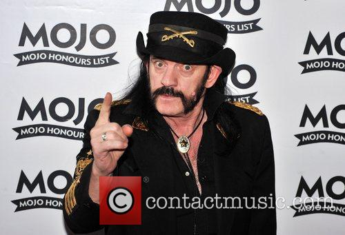 Lenny from Motorhead Mojo Honours List held at...