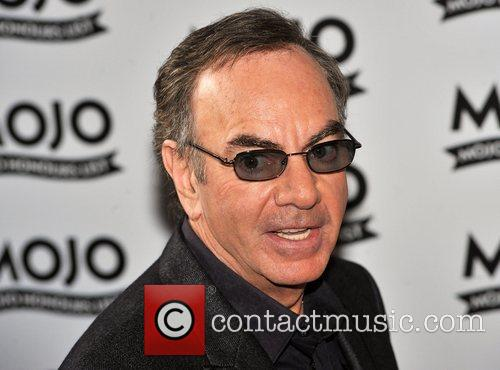 Neil Diamond Mojo Honours List held at the...