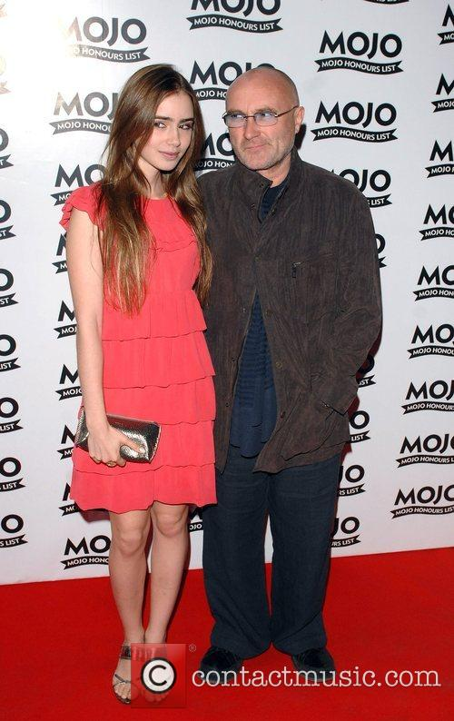 Phil Collins and Daughter Lily Collins